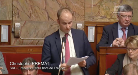 Repr sentation politique christophe premat for Chambre de commerce franco polonaise