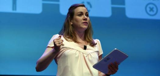 Axelle Lemaire à la French Touch Conference le 24 juin 2015