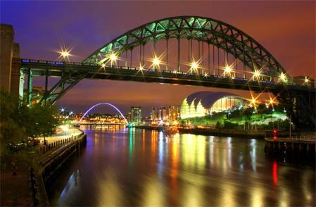 La rivière Tyne à Newcastle